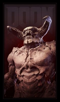 The ZBrush user gallery - showcasing the amazing artwork being shared by our ZBrushCentral community. Doom 3, Doom Game, Character Concept, Character Art, Concept Art, Character Design, Armor Concept, Doom Demons, Doom 2016