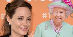 Angelina Jolie received an honorary degree from Queen Elizabeth II of Great Britain