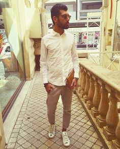 #fashion #street #urban #inspiration #men #white #menswear