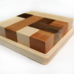 little sapling toys | block puzzle with tray