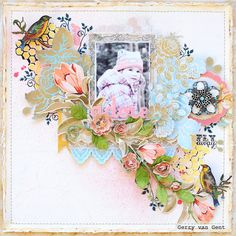 Adore *GDT Flying Unicorn - February Kit Of The Month - Scrapbook.com