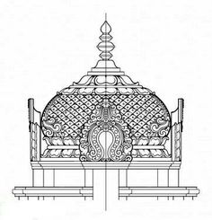 Collection of Temple Drawing Sketch Indian Temple Architecture, Ancient Architecture, Temple Drawing, Temple Design, Tanjore Painting, Indian Folk Art, Hindu Art, Traditional Paintings, Indian Paintings