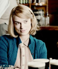 """lauranoncrede: """"period ladies → keira knightley as joan clarke"""""""