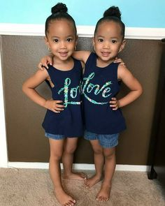 Fashion Trends For Toddlers Cute Mixed Babies, Cute Black Babies, Beautiful Black Babies, Cute Twins, Beautiful Children, Cute Babies, Baby Kids, Pretty Kids, Pretty Baby