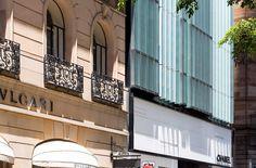 Facade detail at 70 Castlereagh Street, Sydney / Bates Smart