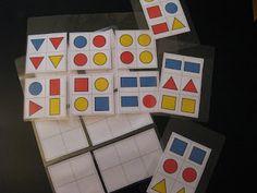 Tablas para orientación espacial y geométrica P3