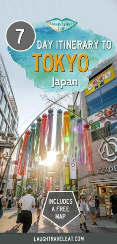 Tokyo is so full of activities that it's hard to decide on an itinerary. But if you like eating, shopping, hiking, here's a 7 day itinerary