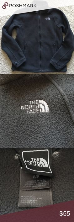The North Face 100 glacier full zip jacket The North face 100 glacier full zip black fleece jacket size small great condition The North Face Jackets & Coats