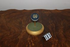 Notre Dame Logo Golfball by NCProductsLLC on Etsy
