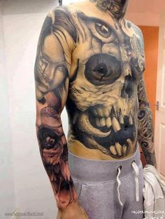 klatka dresy tatuaż :) - Najseksowniejsze dziary świata