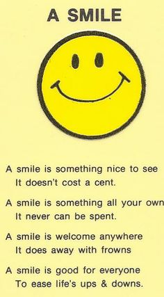 Loved to smile!!  Vintage wallet card from 1980's  lgh