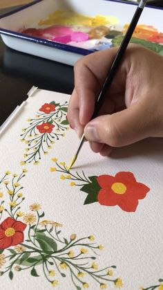 Satisfying gouache painting compilation video by Philip Boelter