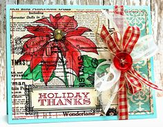 The Craft's Meow Store Blog: Introducing Holiday Poinsettia and Inside Christmas