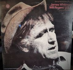 "Will Rogers USA  2 Lp  12"" Vinyl Lp set Original Cast 1970s James Whitmore. Outstanding performance, highly coveted recording"