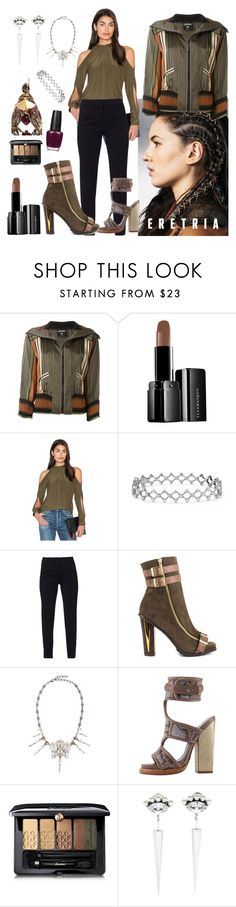 """So ME"" by denibrad ❤ liked on Polyvore featuring Jean-Paul Gaultier, Illamasqua, Ramy Brook, WtR London, Luichiny, On Aura Tout Vu, Monika Chiang, Guerlain and Anton Heunis"