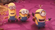 Minions the movie 2015- Kevin, Bob and Stuart