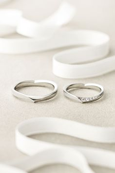 SHAPE OF LOVE Marriage Ring 結婚指輪 STAR JEWELRY スタージュエリー Diamond Pt950 Made in Japan http://www.star-jewelry.com/bridal