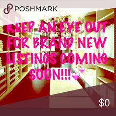 Closet Clean Out! Size XS & Small NWT, NWOT & pre💗 items will be listed TODAY. I take reasonable offers, 15% off 3+ listings, and offer next day shipping.  I'm excited to share my closet & find new & pre💗 items on Poshmark. No trades, just positive vibes, please! 🛒 in 🛍👗👖 Other
