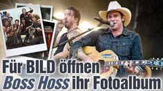 """The BossHoss zeigen BILD ihr Fotoalbum: """"Wir waren damals immer dicht auf Tour"""""""