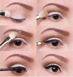 Este #maquillaje es ideal para #mujeres de ojos pequeños, sigue estos #consejos
