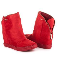 Štýlové topánky na kline 1133-19R