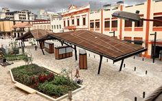 Soportes de cubierta. Texturas de piso y paisajismo