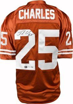a24c88b76 Jamaal Charles Autographed Jersey - JSA  SportsMemorabilia  TexasLonghorns