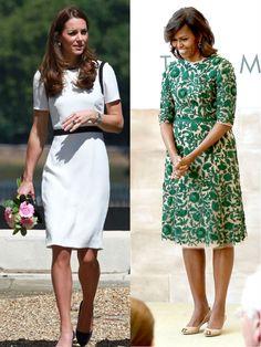 Kate Middleton vs Michelle Obama : qui est l'icone mode la plus influente ?