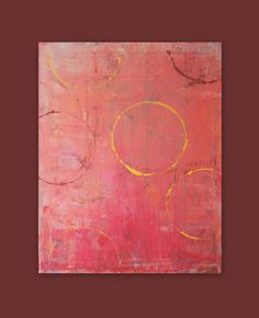 Original Art ABSTRACT Painting Canvas Painting by HLBhomedesigns, $55.00