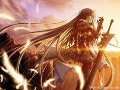 Anime Princess Warrior Wallpaper