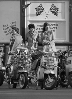 Scooter girls. CLICK the PICTURE or check out my BLOG for more…