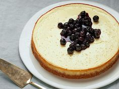 Greek Yogurt Cheesecake Recipe : Food Network Kitchen : Food Network - FoodNetwork.com