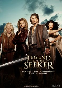 Legend of the Seeker. Book and tv show.