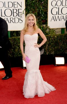 Hayden Panettiere on the Golden Globes Red Carpet 2013