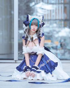 Kawaii Cosplay, Cute Cosplay, Cosplay Outfits, Cosplay Girls, Japanese Fashion, Japanese Girl, Belle Cosplay, Poses, Cute Asian Girls