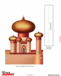 Disney Princess Jasmines's: Printable Castle Template- [ Little Blue Bow ]♡… Disney Princesa Jasmine, Jasmine Aladin, Aladdin Cake, Aladdin Party, Aladdin Musical, Deco Disney, Disney Art, Disney Dolls, Princess Jasmine Party