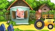 Video musical para aprender los animales de la granja y sus sonidos originales