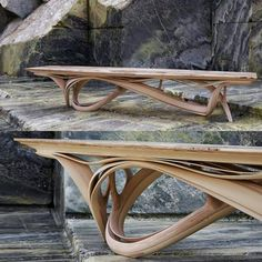 """Joseph Walsh's work I absolutely admire and envy him as a carpenter and an artisan. """"Enignum XI Table Joseph Walsh Studio Enignum XI Table Joseph Walsh Studio Photo by Andrew Bradley Unique Furniture, Home Decor Furniture, Table Furniture, Furniture Design, Handmade Wood Furniture, Furniture Outlet, Discount Furniture, Wood Table Design, Woodworking Furniture Plans"""