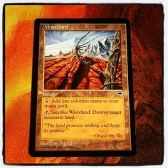 Just received on #pucatrade, Wasteland! The Playset is now complete! #mtg http://instagr.am/p/WSmypqB6Io/ (PucaTrade.com is a new way to trade Magic the Gathering cards).