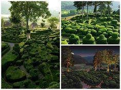 The Marqueyssac gardens #France, #Garden