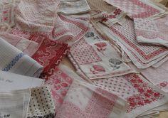 gamla sjalar med helt underbara mönster