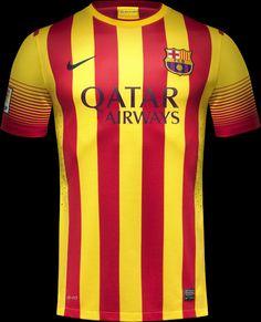 Barcelona FC Away Kit (Nike, 2013/2014)