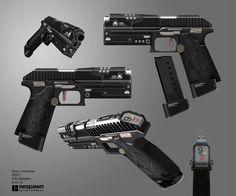 ArtStation – Titanfall 2 Pistol, Ryan Lastimosa Save those thumbs & bucks … Sci Fi Armor, Sci Fi Weapons, Weapon Concept Art, Fantasy Weapons, Weapons Guns, Guns And Ammo, Sci Fi Pistol, Academia Hero, Future Weapons