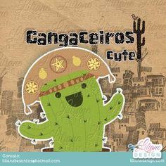 Cangaço cute – em breve – Liliane Design Chibi, Chic Chic, Kawaii, Culture, Amanda, Handmade, 1, Cookies, Design