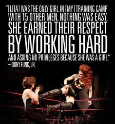 WWE Hall of Fame member Lita