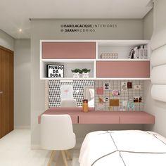 Teen Bedroom Designs, Bedroom Decor For Teen Girls, Room Ideas Bedroom, Small Room Bedroom, Bedroom Ideas For Small Rooms For Teens, Small Teen Room, Small Bedroom Interior, Girl Bedrooms, Study Room Decor