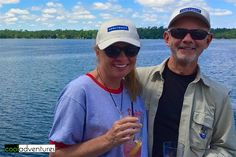 Enjoying beautiful Gull Lake aboard Destiny Cruises in Brainerd Minnesota