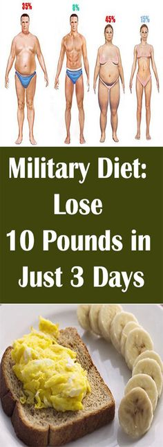 military-diet-to-lose-weight-fast