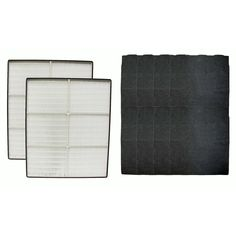 2 Whirlpool Whispure Replacement HEPA Air Purifier Filters & 8 Odor-Neutralizing Carbon Pre Filters