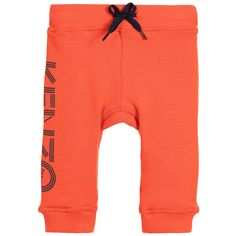 Kenzo - Boys Red Cotton Tracksuit Trousers |